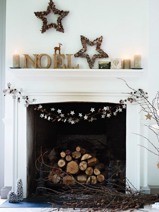 have a look at the ideas below and find your own inspiration for your minimalist christmas