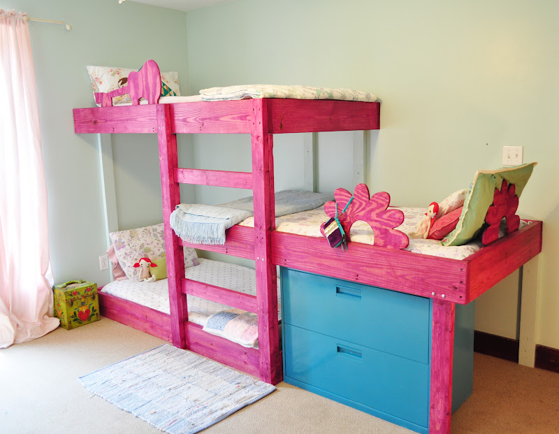 The handmade dress triple bunk bed plans for Triple bunk bed