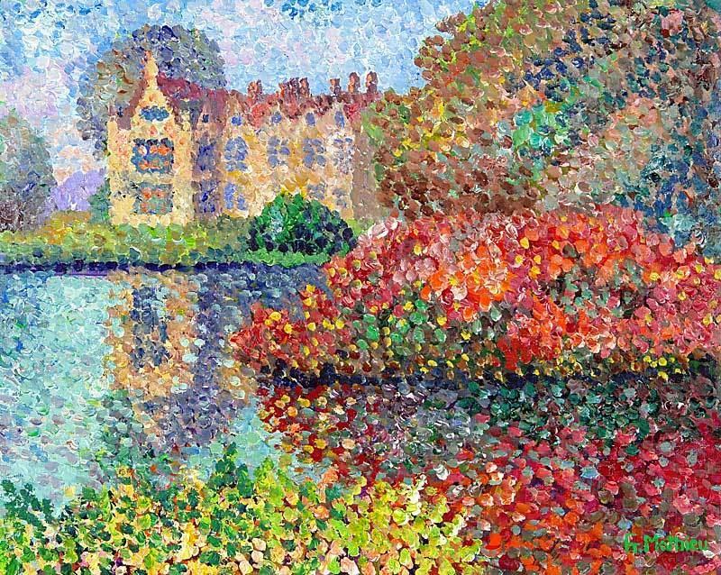 Afbeeldingsresultaat voor pointillisme