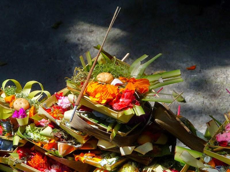 Bali - offrandes