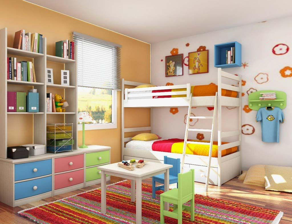 Childrens bedroom ideas for small bedrooms amazing home for Interior design for kid bedroom