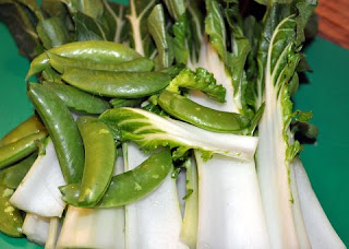 Fresh Chinese vegetables