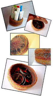 Canasta de spa a crochet - Ahuyama Crochet