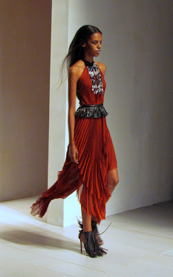 Marios Schwab for SS13 dress