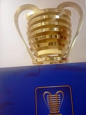 Nova taça da Copa do Nordeste está em Salvador para exposição