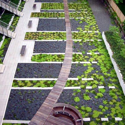 Il giardino sul tetto for Design giardini