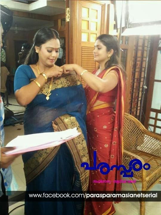 Malayalam serial actress Gayathri Arun Acting In Malayalam serial