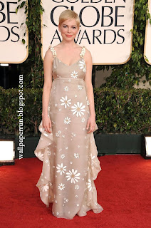 Michelle Williams attends the 68th Annual Golden Globe Awards in Beverly Hills