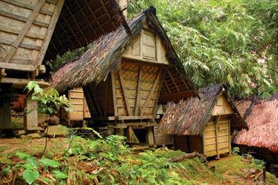 Rumah Adat Banten - Badui