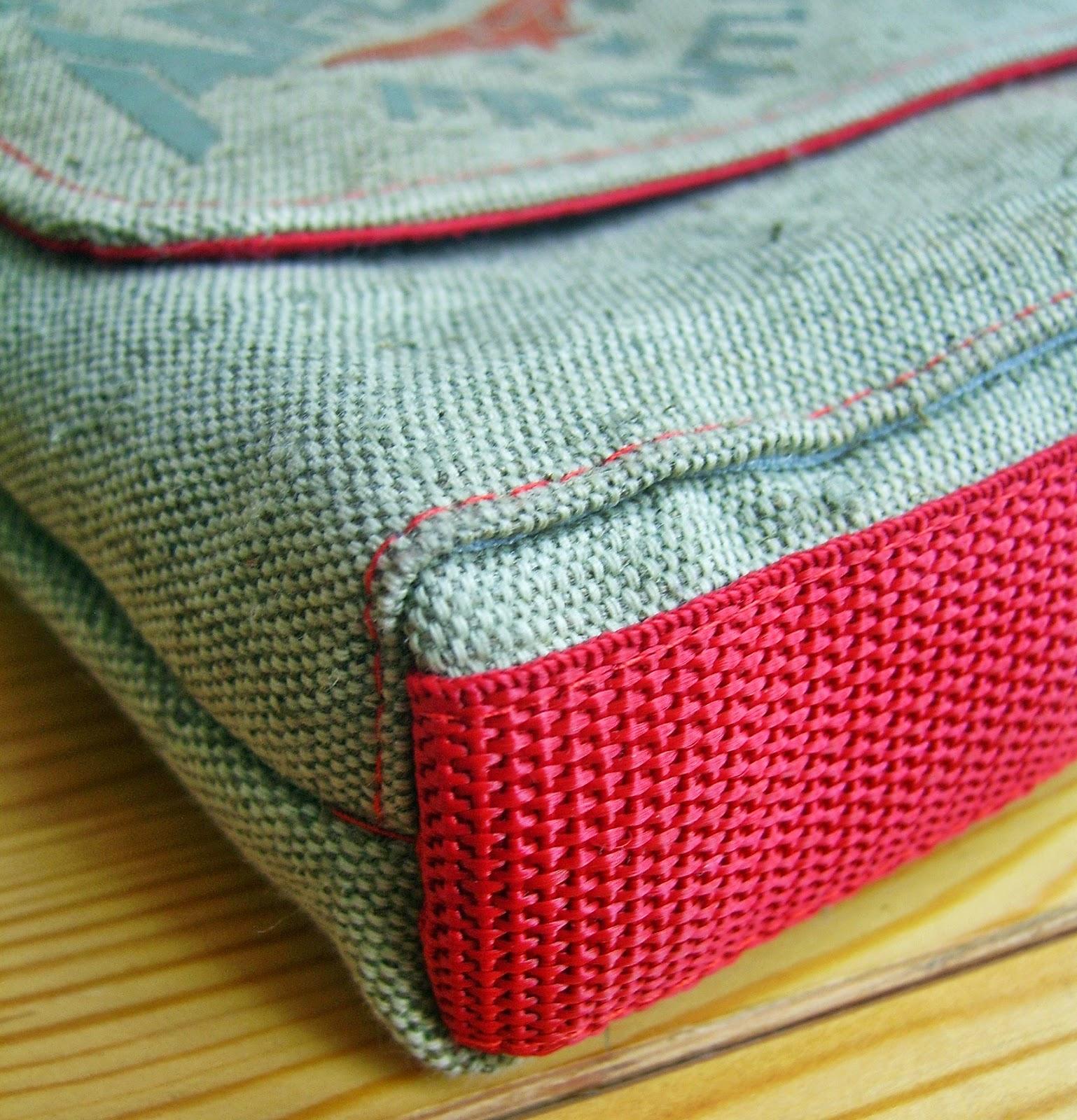 сумка-планшет, укрепление дна