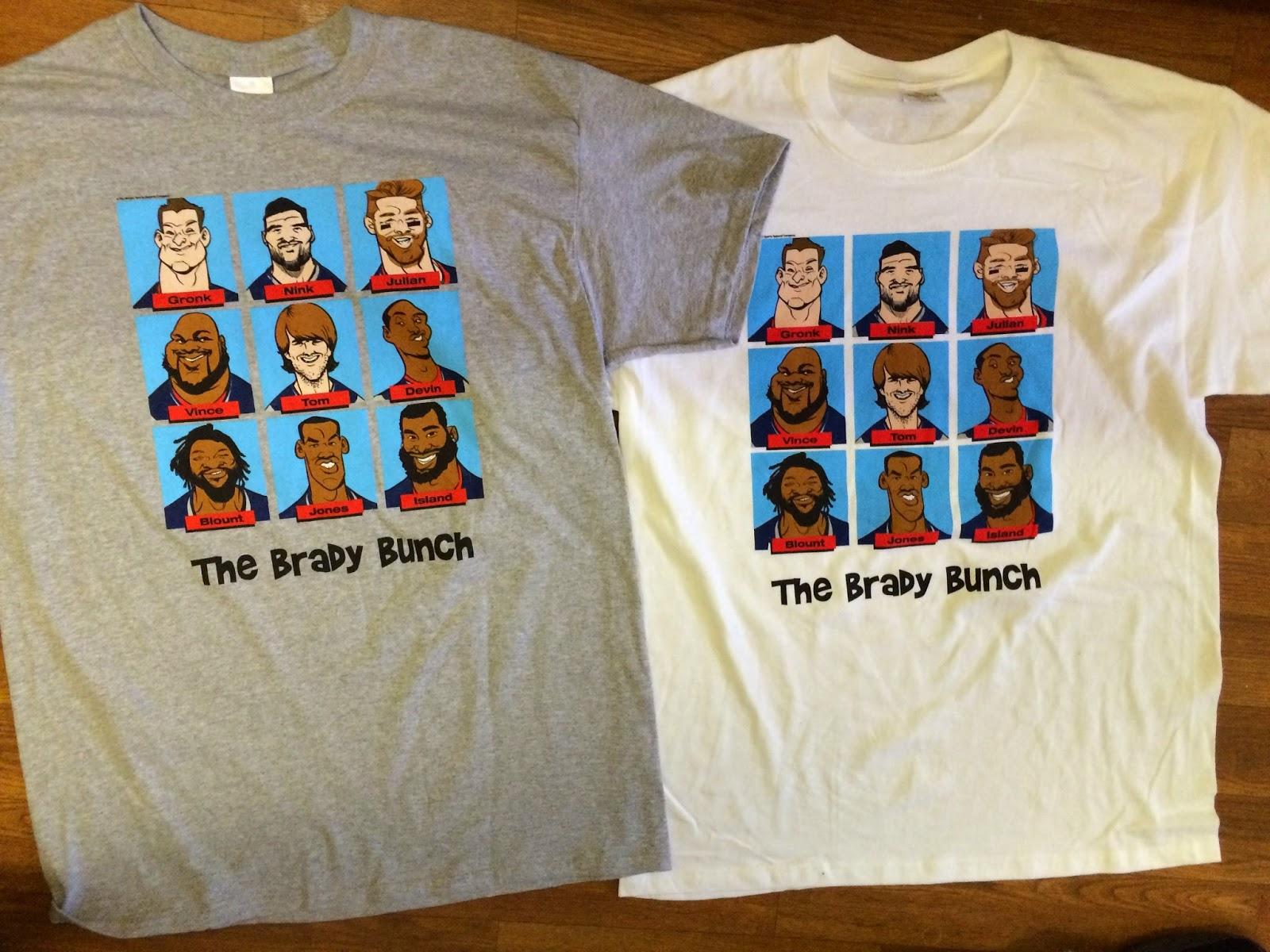 Brady Bunch Patriots The Brady Bunch T-shirts