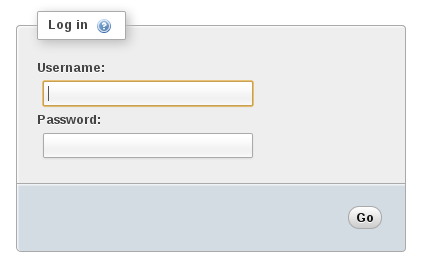 login form phpmyadmin
