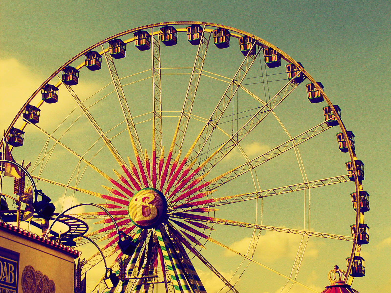 Wallpapers ferris wheel for Retro images