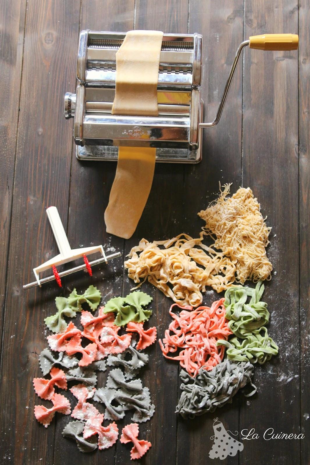 La cuinera c mo hacer pasta fresca en casa - Hacer pasta en casa ...