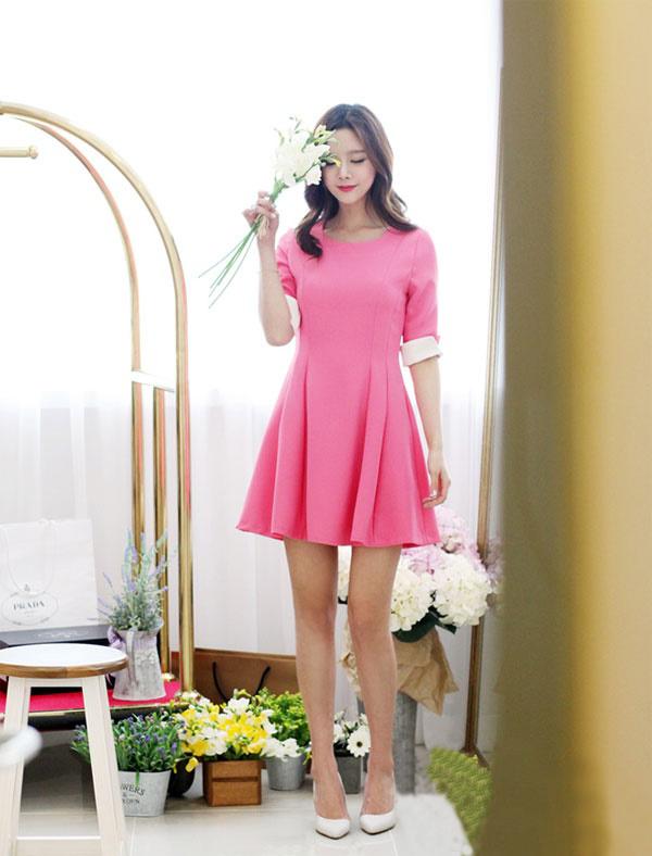 Váy đầm xòe hàn quốc đẹp 2015 – 2016
