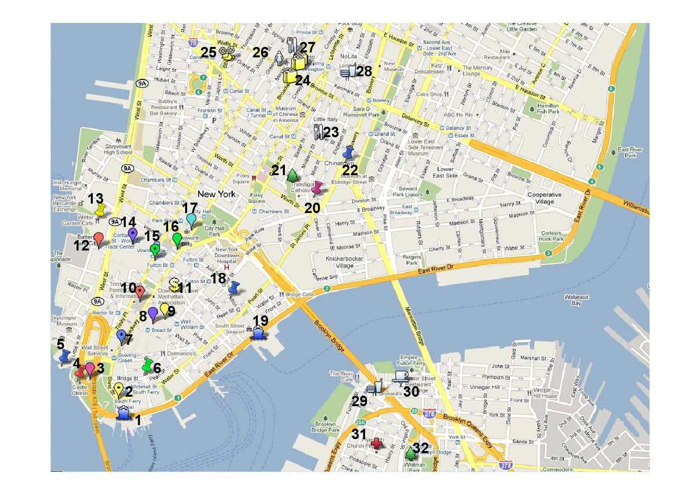 Mis planos de Nueva York - Callejeando por el mundo