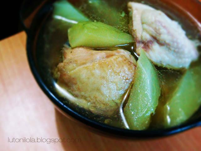 Tinolang Manok - Chicken Tinola