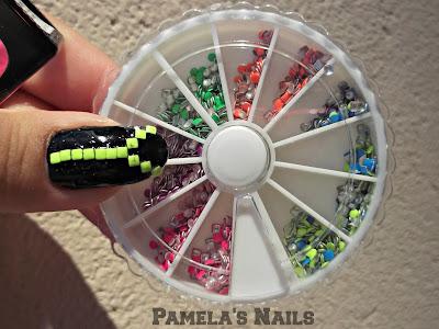 born pretty store neon nail studs