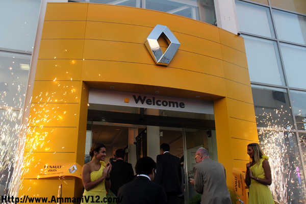 Renault S Official Opening