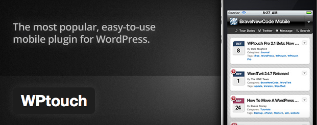 WP Touch WordPress Plugin