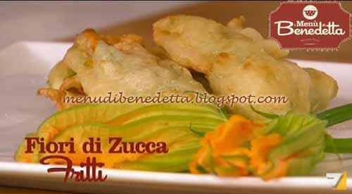 Fiori di zucca fritti ricetta parodi da i men di benedetta for Mozzarella in carrozza parodi