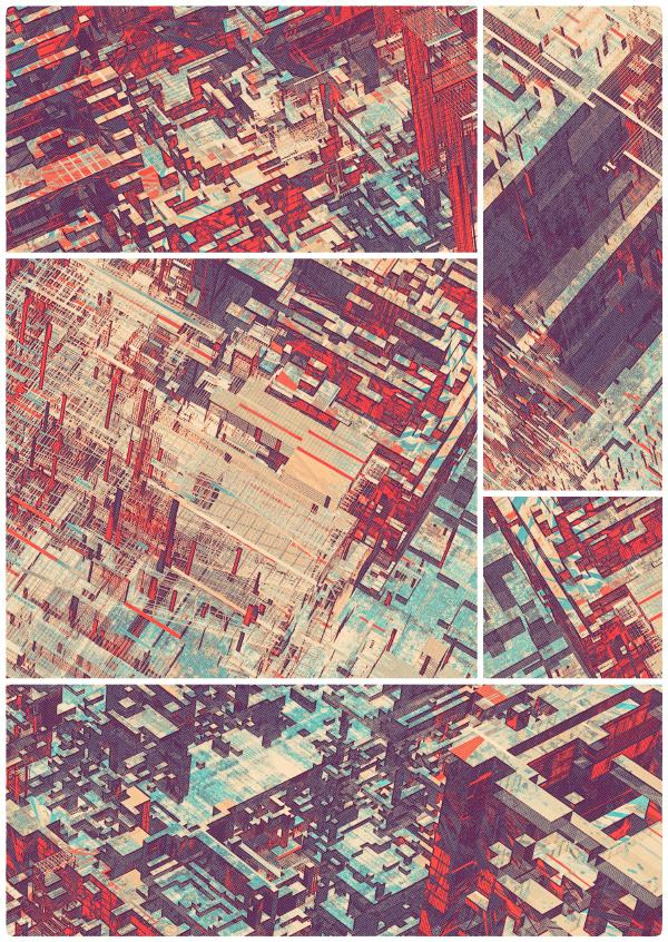 Atelier Olschinsky. Pixel City II.Doctor Ojiplatico