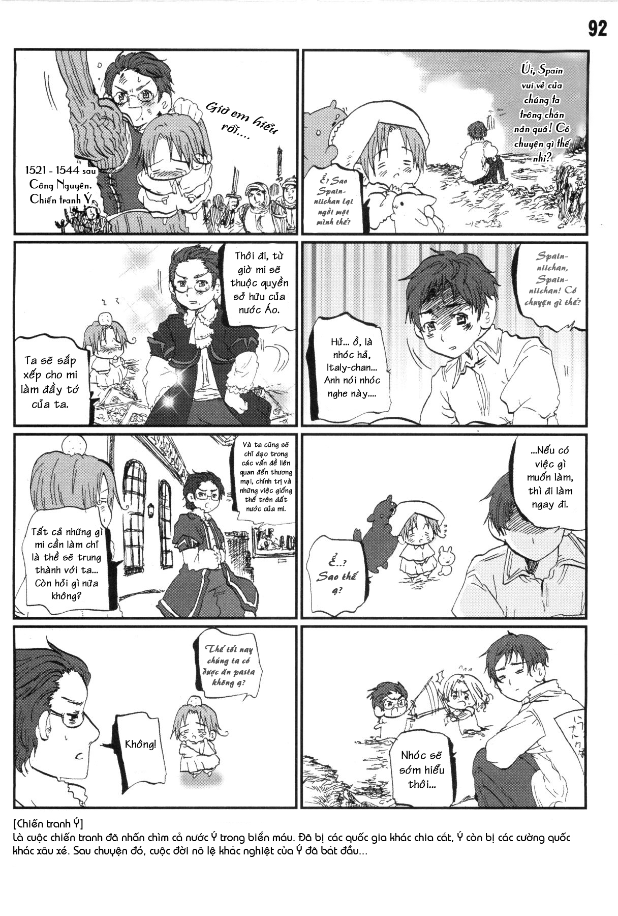 Axis Powers Hetalia chap 8 - Trang 5