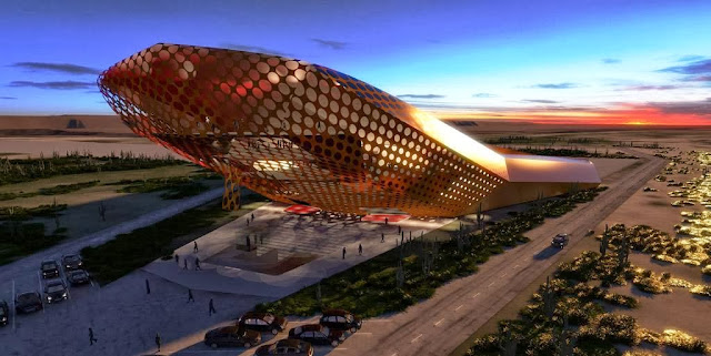 Spaceport Curacao Architectural Concept. Credit: SXC
