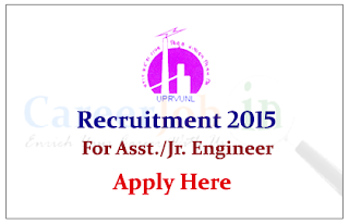 U.P.Rajya Vidyut Utpadan Nigam Limited Recruitment 2015 for the posts of Assistant Engineer and Junior Engineer