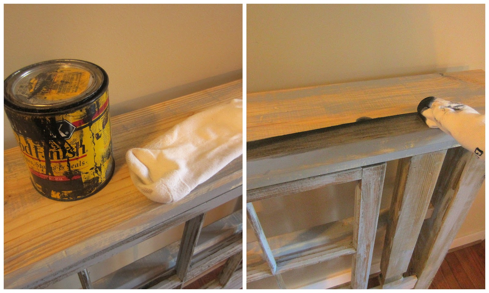 Down to earth style new old foyer table - Table vitroceramique 2 foyers ...