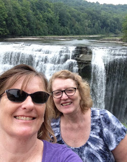 Letchworth State Park, Middle Falls, Janet and Joan