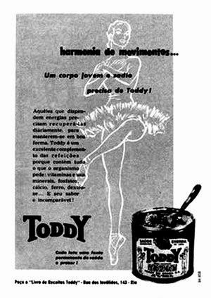 História do surgimento do achocolatado Toddy no Brasil.