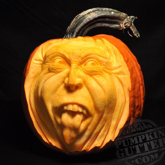 Most expressive d pumpkin face sculptures ii spicytec