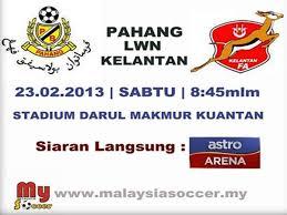 Pahang dan Kelantan akan berlangsung di Stadium Daru Makmur, Pahang