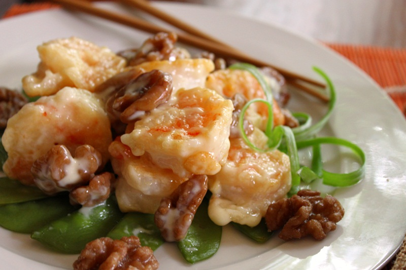 Honey Walnut Shrimp / Walnut Prawn Recipe Recipe — Dishmaps