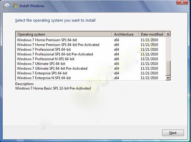 msdn windows 7 starter iso