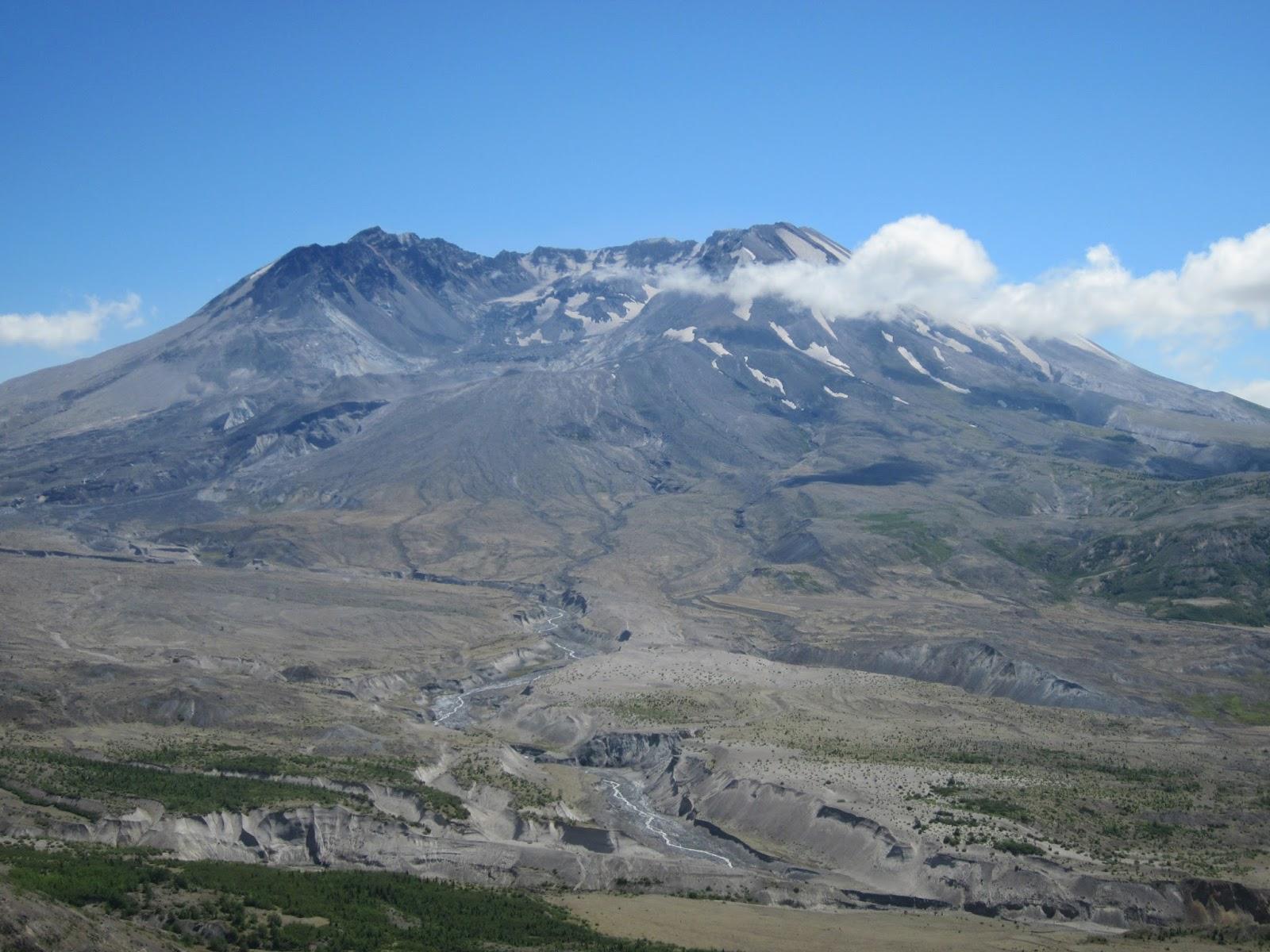 Hookup Of Mt. St. Helens Lava Flows