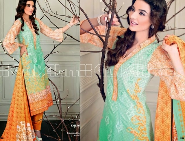 Gul Ahmed Pret Eid Collection 2014-2015