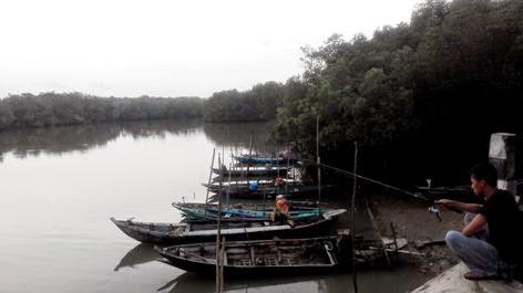 tempat memancing di pantai sambilangan bangkalan madura