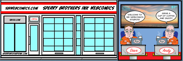 SPERRY BROTHERS INK WEBCOMICS
