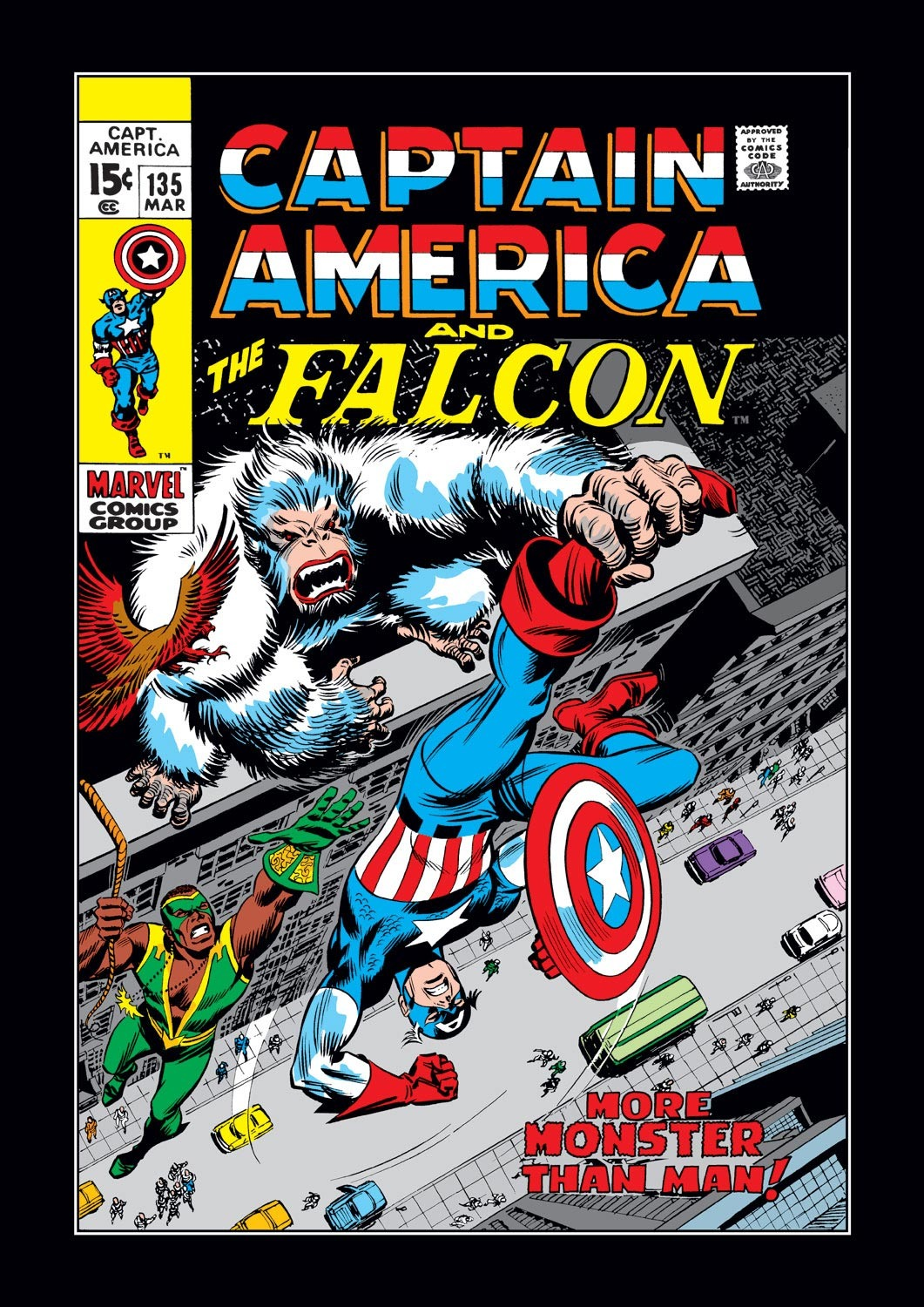 Captain America (1968) Issue #135 #49 - English 1