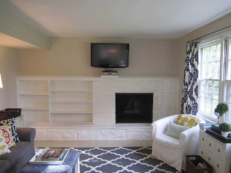 Swoon Style and Home: Fireplace Wall - check!