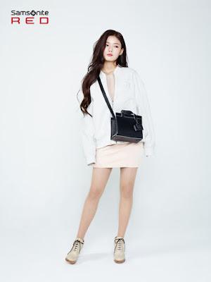 Kim Yoo Jung - Samsonite Red Spring Summer 2016