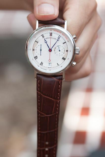 Đồng hồ nam dây da cao cấp đẹp giá rẻ Breguet