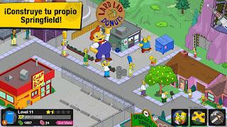 Juego Los Simpson™: Springfield para Android, los simpson android, review los simpson android