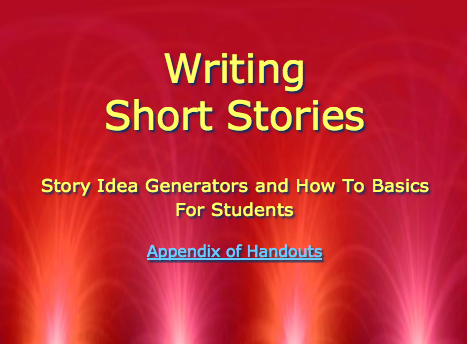 Writing Short Stories: Soon to be Updated!