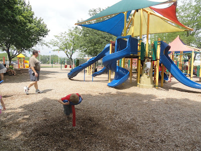 Warren Township Center playground