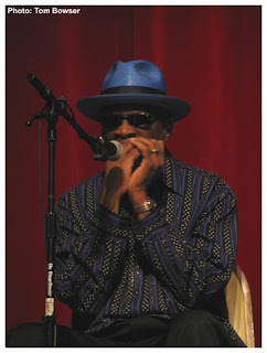 Harmonica Hinds - Blues Harmonica | photograph by Tom Bowser
