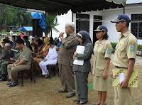 upacara PNS Indonesia Bangkit