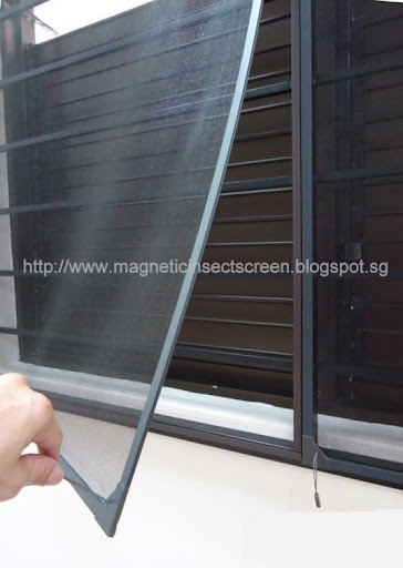 DIY Magnetic Insect Screen Singapore INSECT SCREEN
